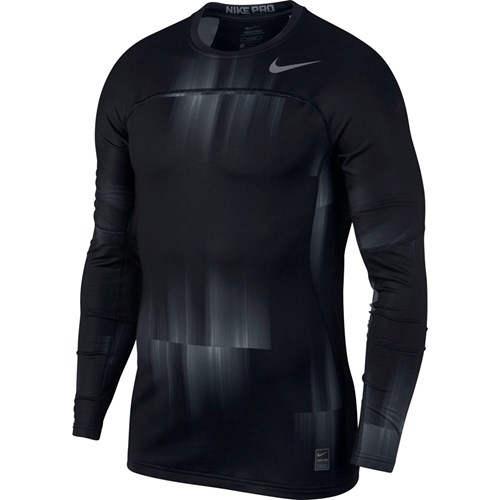 Nike Pro Hyperwarm Top LS Fitted mænd