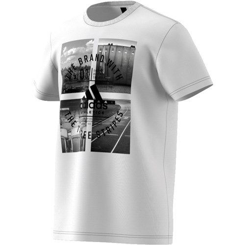 Adidas Athletics Photo T-shirt herre